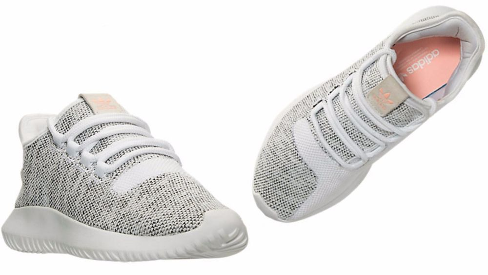 the latest 8aa90 163f4 WOMENS ADIDAS ORIGINALS TUBULAR SHADOW White Pearl Grey Coral BB8872  ADIDAS   BB8872