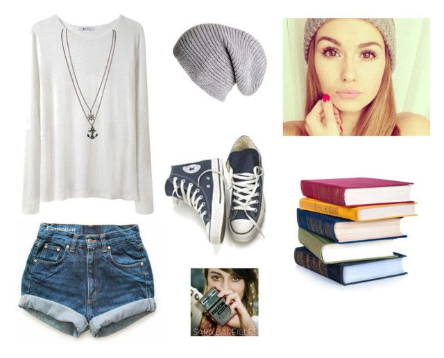 """""""Comfy Monday at School"""" by madi463 ❤ liked on Polyvore featuring Levi's, T By Alexander Wang and Converse"""