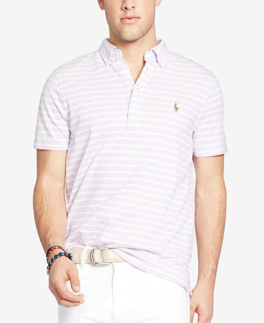 9b580b7ee Polo Ralph Lauren Hampton Striped Polo Shirt   shirts   Striped polo ...