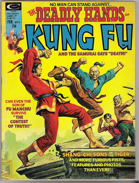 Deadly Hands Of Kung Fu 9 Shang Chi Retro Comic Book Kung Fu Comics