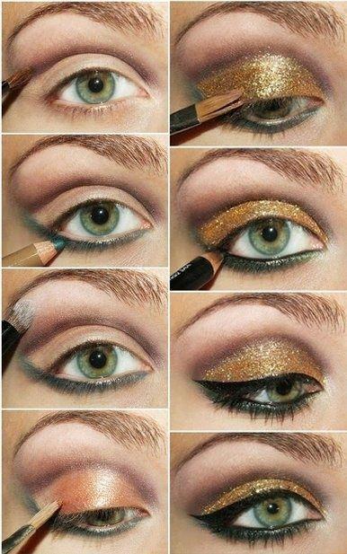 Ongebruikt Afbeeldingsresultaat voor ogen schminken stap voor stap (met HH-69
