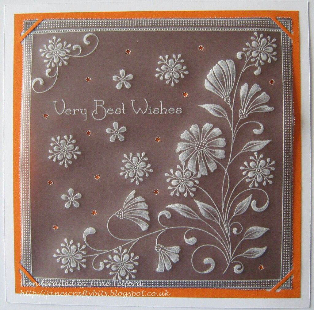 Card Making Patterns Ideas Part - 22: Parchment Cards, Card Patterns, Card Designs, Plastic Canvas, Handmade Cards,  Papercraft, Card Making, Card Ideas, Soaps