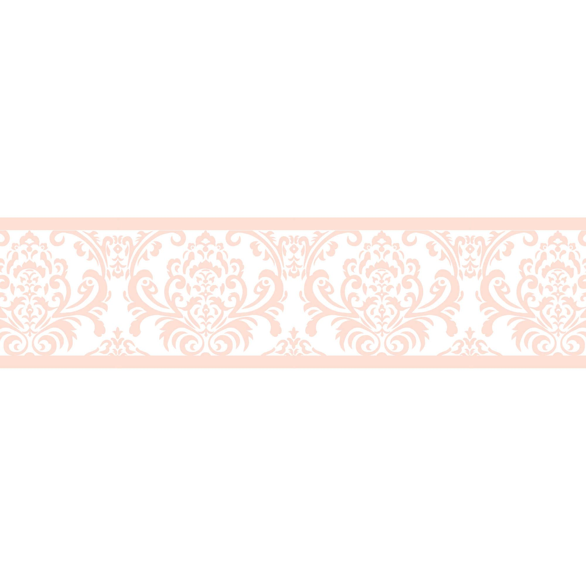 Sweet Jojo Designs Amelia Wallpaper Border in Pink/White