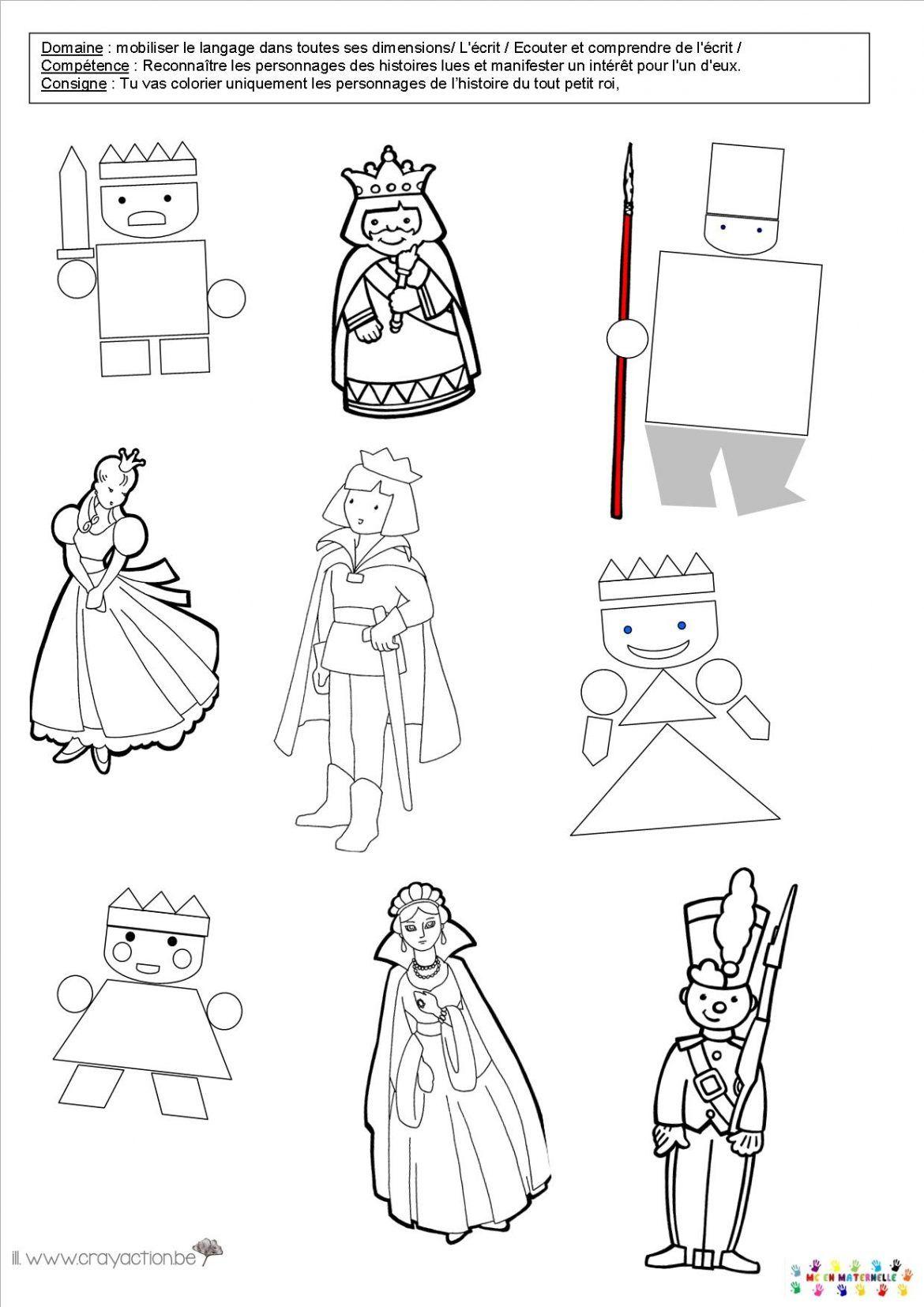 Les rois et les reines page 2 mc en maternelle pour ma ps pinterest le tout petit roi - Personnages de roule galette ...