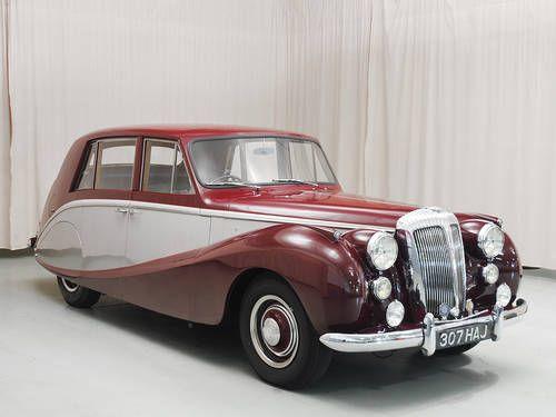 1953 Daimler Empress Mkii Sedan Posh Cars Classic Cars Cars Uk