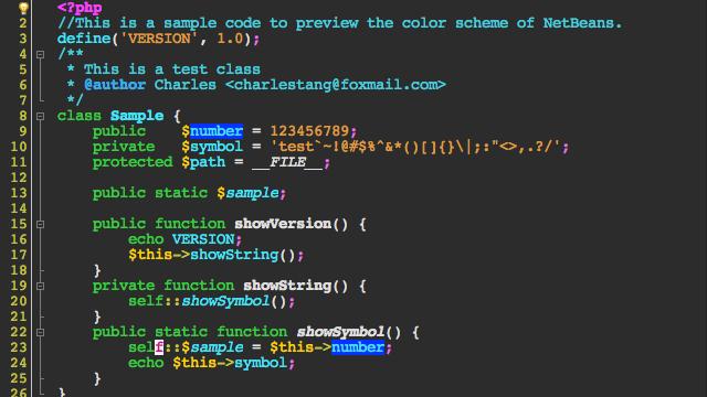 Color Schemes Of The Netbeans Ide Page 2 Color Schemes Schemes Color