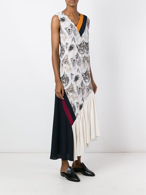 2228023c6a2d Stella McCartney  Ilona  cat print dress