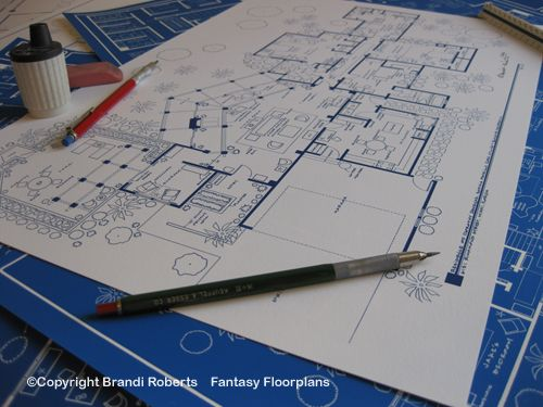 The golden girls house tv show floor plan blueprint poster art for the golden girls house tv show floor plan blueprint poster art for residence of blanche malvernweather Gallery