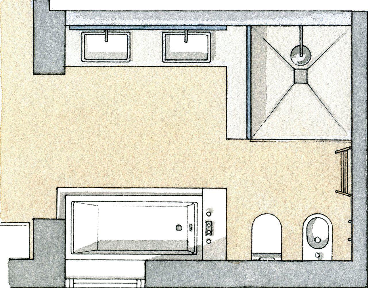Calma y relax en un baño en el campo bath bathroom layout and toilet