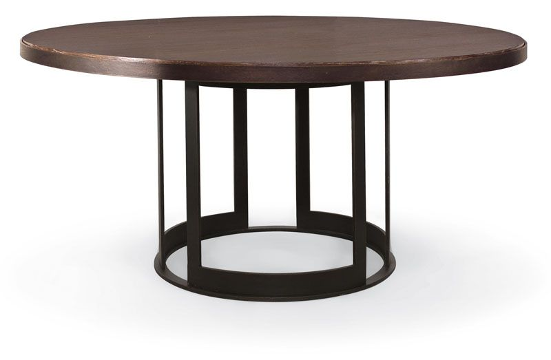 Elements Round Dining Table 54 335 777 335 776 By Bernhardt Hospitality