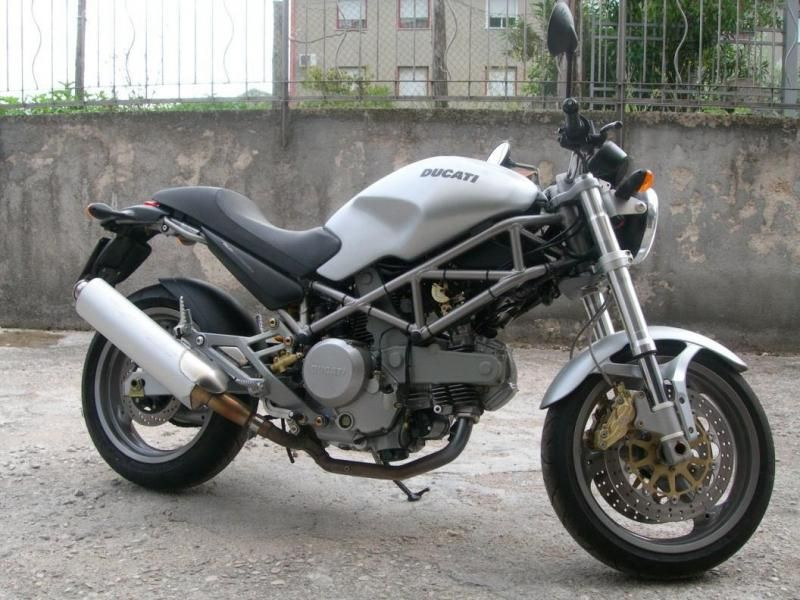 Ducati Monster 620ie Grigio Dark My Board Ducati Monster