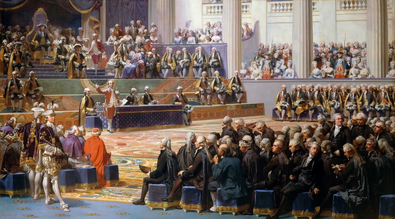 Arash Noorazar Virtual Art Gallery Auguste Couder Opening Of The Estates General May 5 1789 French Revolution Estates General French Revolution Image