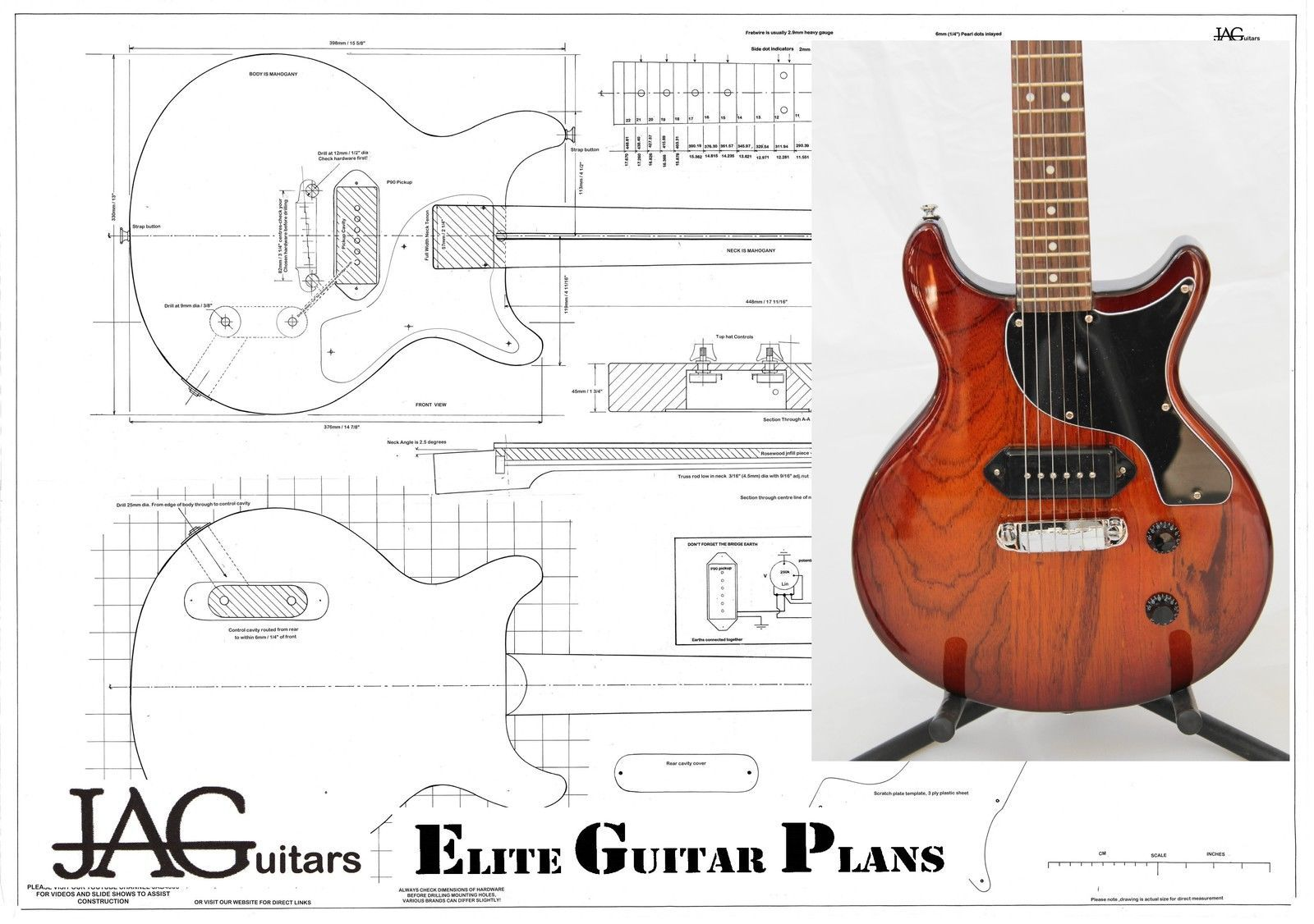 les paul double cut wiring diagram wiring library