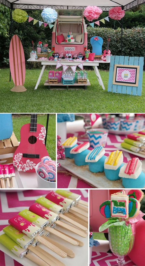 16 Teenage Girl Birthday Party Theme Pinteres