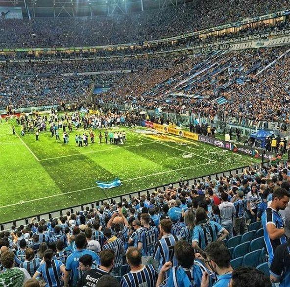 Arena Do Gremio Volta Olimpica Copa Do Brasil 2016 Copa Do Brasil 2016 Gremio Arena Do Gremio