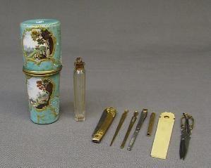 Vanity case, ca. 1760-1800, British, Staffordshire by shawna