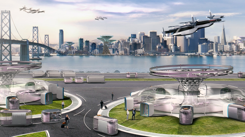 Hyundai unveiled a concept for a flying car at the