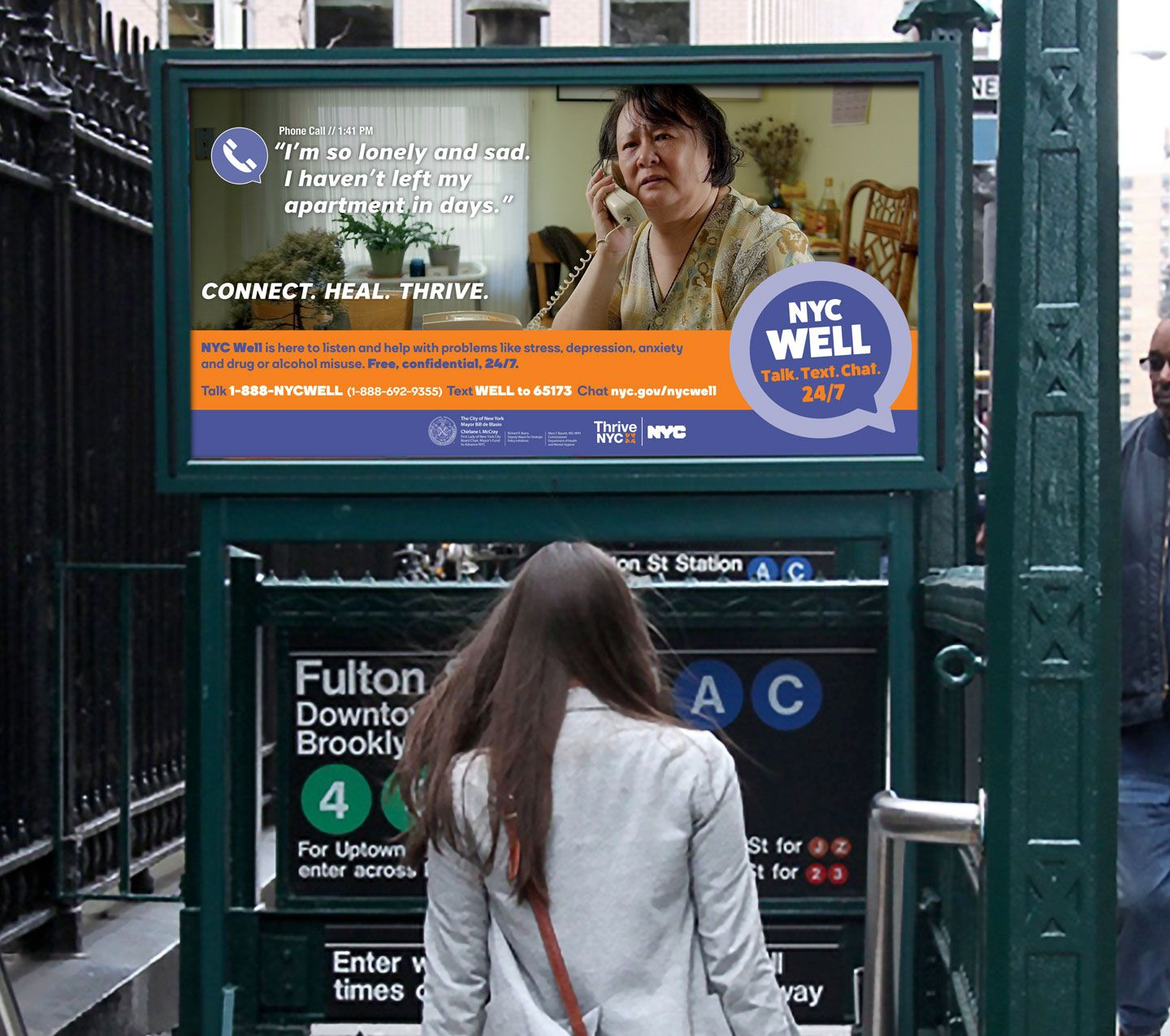 Image Result For Thrive Nyc Ads Mental Health Campaigns