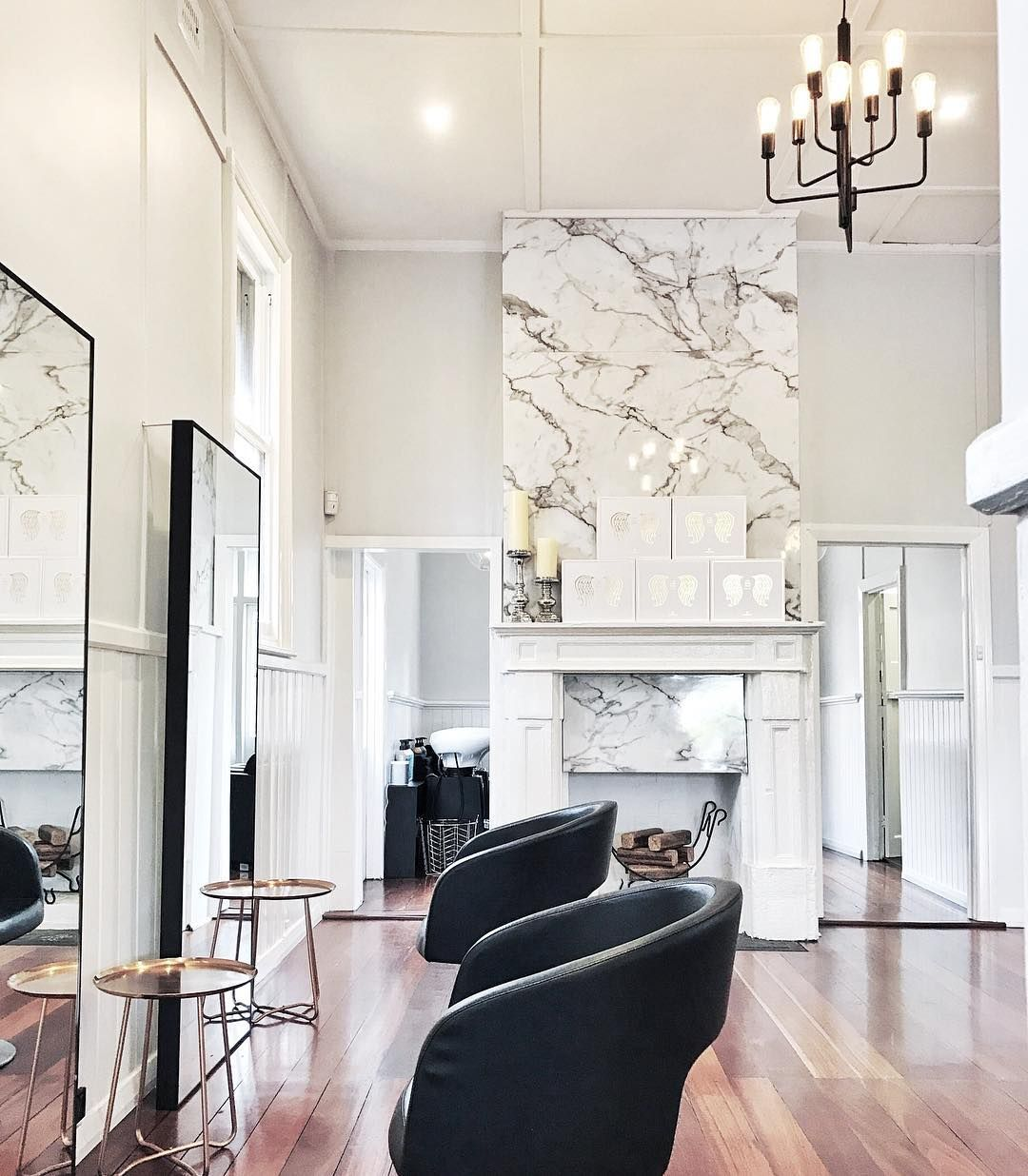 Fab new hair salon in Mosman Park! Love this marble mixed with the ...