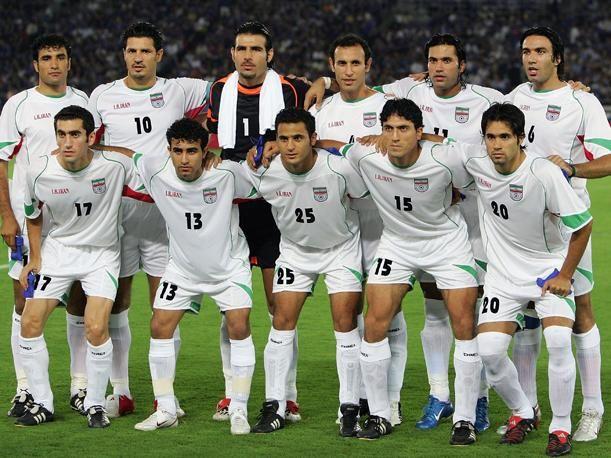 Equipo de Irán en el mundial