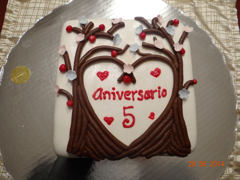 Wedding Anniversary Bodas De Madera Quinto Aniversario