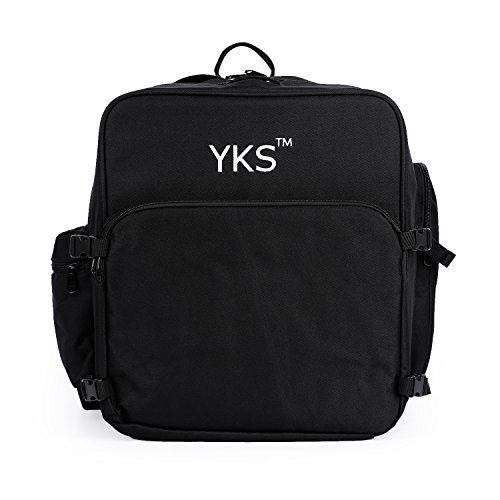 YKS Waterproof Storage Backpack for DJI Quadcopter Drones, Phantom 4 (Black) * Learn more by visiting the image link.