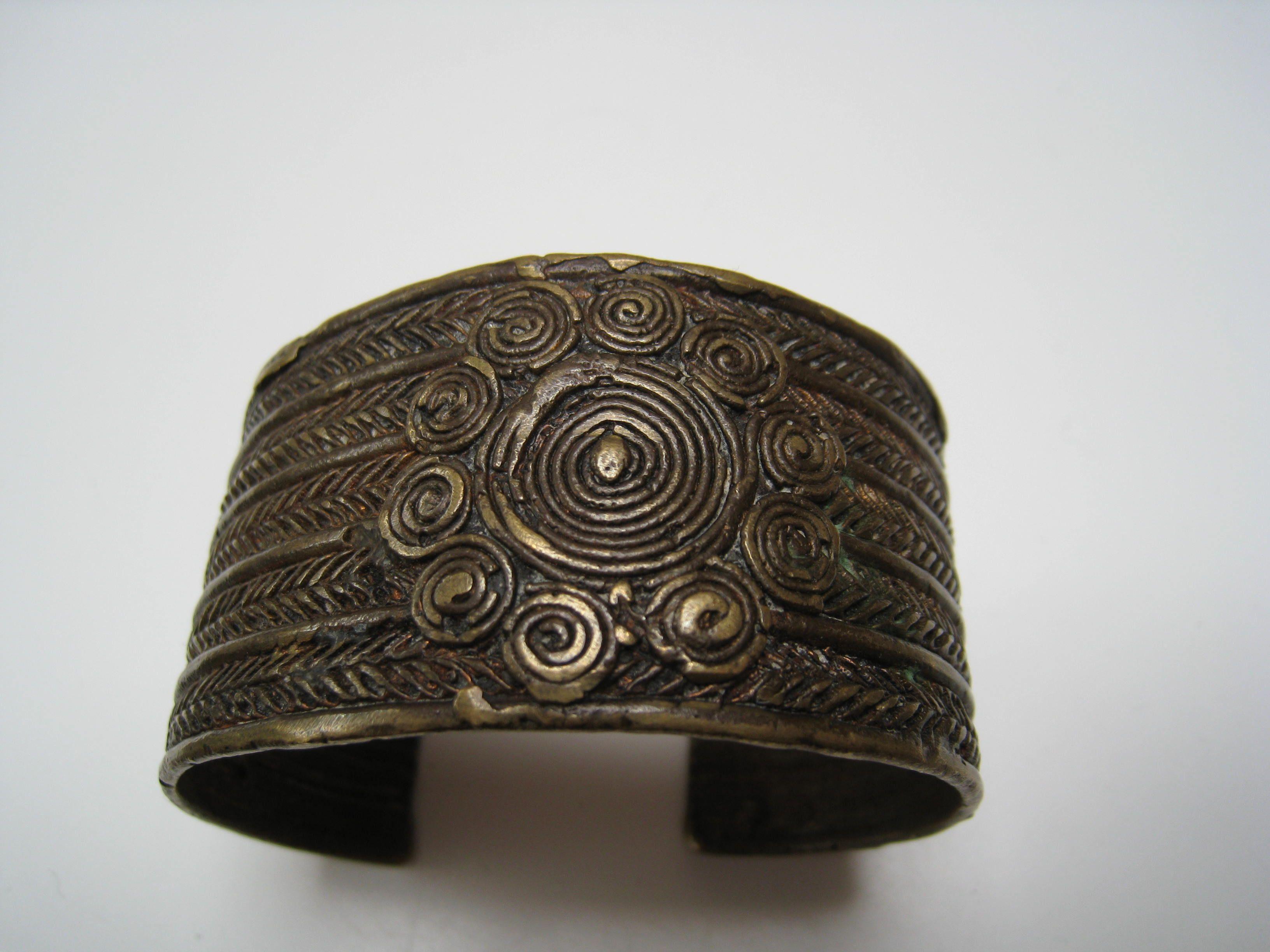 India - arunachal bronze bangle   Ethnic/exotic inspired ...