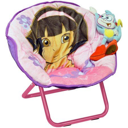 Dora The Explorer 3D Saucer Chair, Orange | Products | Pinterest | Walmart  And Products