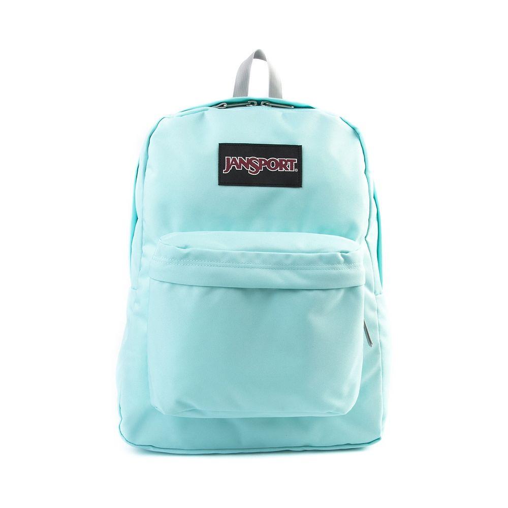 JanSport Superbreak Backpack, Aqua   Journeys Shoes   JanSport ...