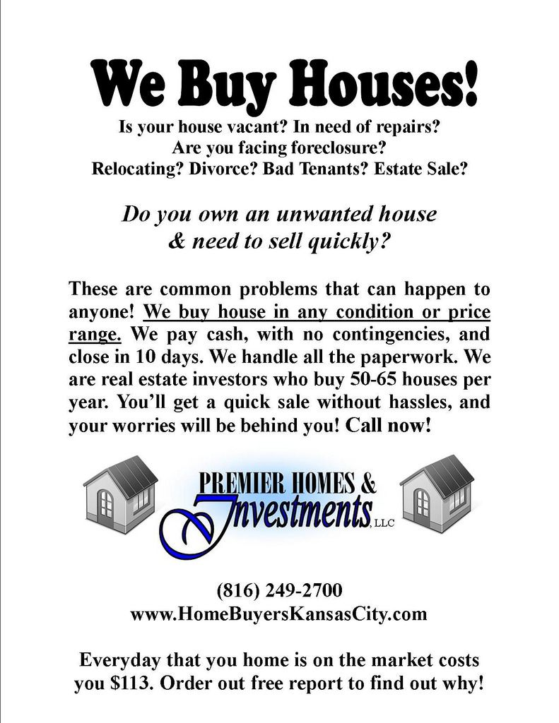 Flyers we buy houses | real estate flyer | Pinterest | Real estate ...
