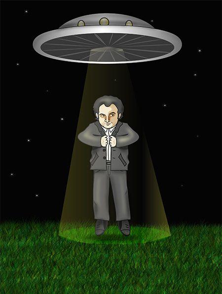 Ilustración Iker Jiménez #ilustracion #dibujo #ovni #ikerjimenez ...