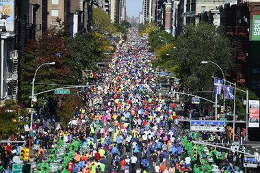 Pin By Dnainfo New York On Nyc Nyc Marathon City Marathon Nyc