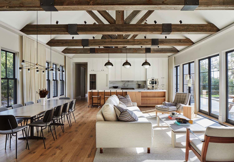 Beautiful Modern Barn Style Home In The Seaside Village Of