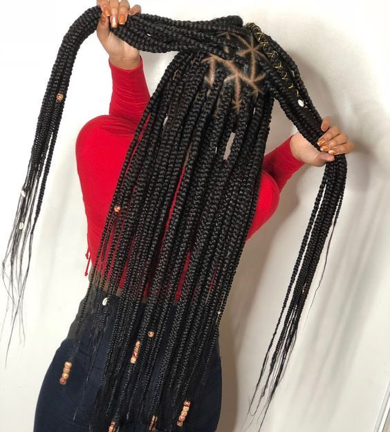 2019 Natural Protective Hairstyles And Braids for Black Women To Try Out #longboxbraids