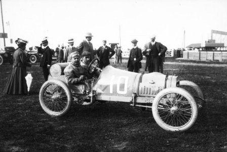 Giosué Giuppone, Grand Prix des Voiturettes à Dieppe en 1908