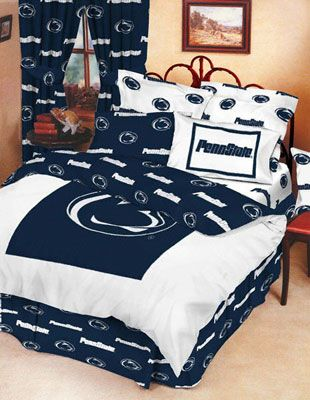 Penn State Nittany Lions 8-Piece Comforter Set - Full