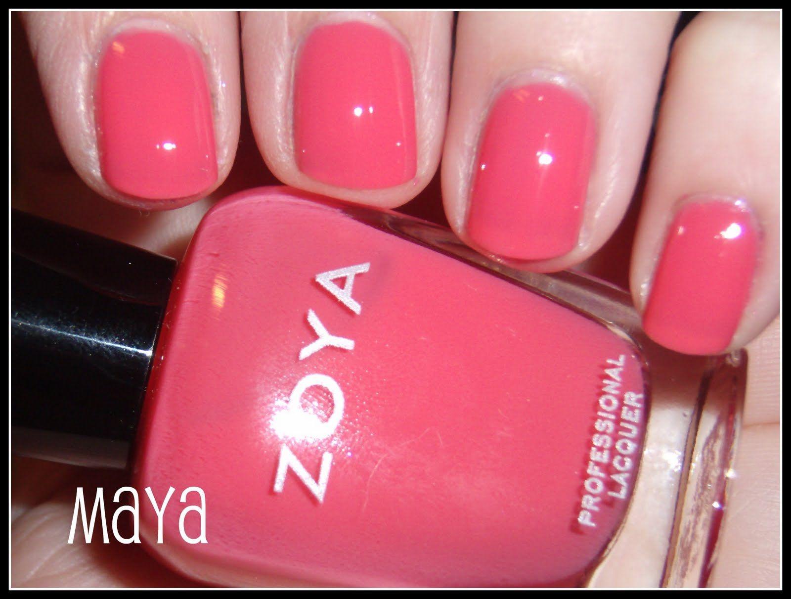 zoya maya nail colors