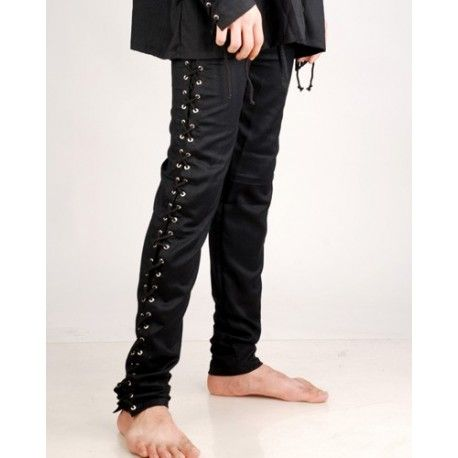 Gothic Death Pants-Medieval clothing