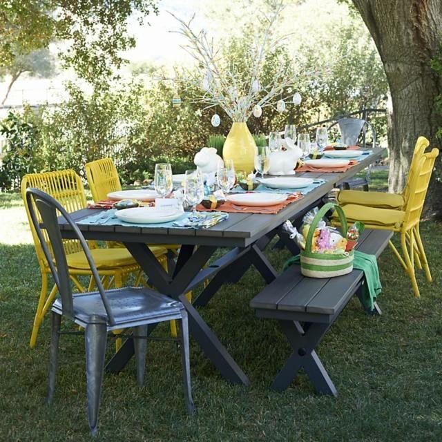 Meubles de jardin- plus de 70 idées de coin repas en plein air ...