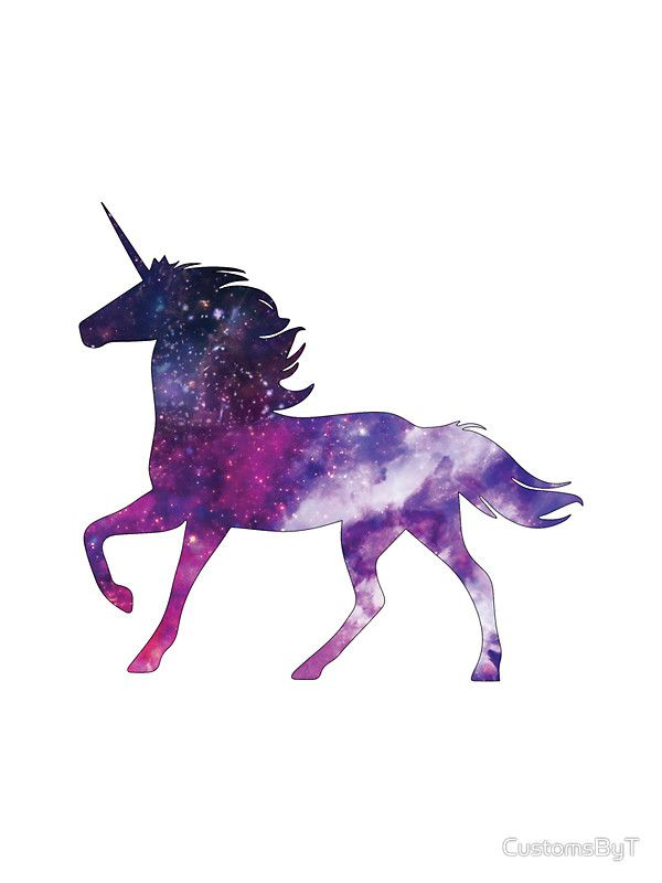 Fancy Unicorn Galaxy Sticker By Customsbyt Unicorn Pictures Unicorn Art Unicorn Wallpaper