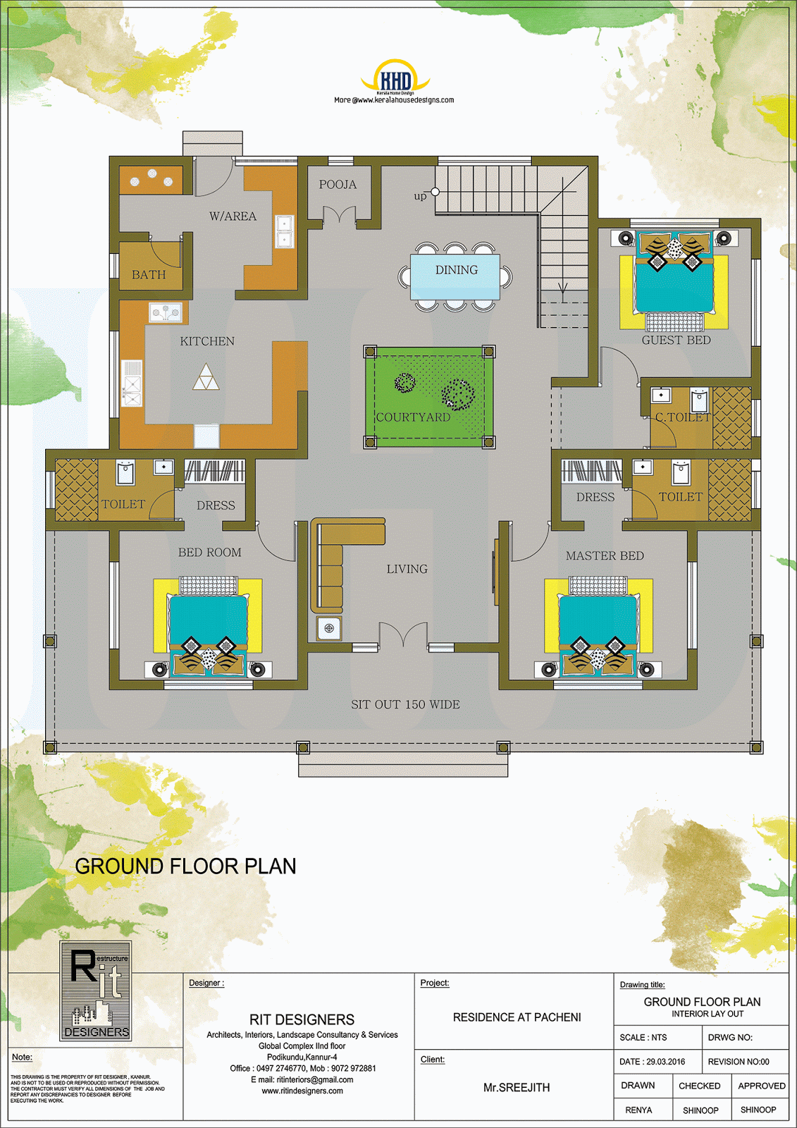 Kerala Traditional Home With Plan Home Design Floor Plans