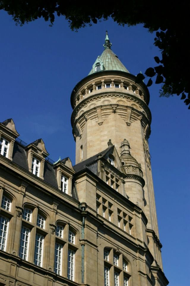 Spuerkees Bank Building In Luxembourg City Center Luxembourg City Banks Building Luxembourg