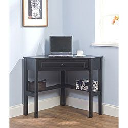 Mmmm Might Work Good In My Place Corner Computer Desk Wood Corner Desk Black Corner Desk