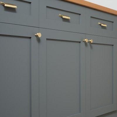 Card File Pull  Natural Brass  Brass Drawer Pulls Hardware And Fair Kitchen Cabinet Drawer Pulls Design Decoration