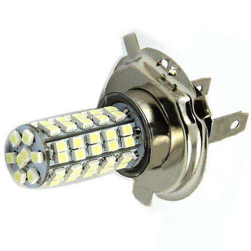 H4 3528 68 Smd Led 6500k 310 Lumen White Fog Light Bulb Headlight