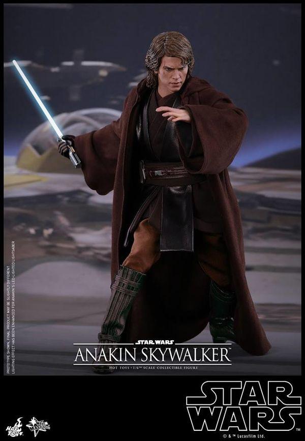 Starwars Episode Iii 1 6th Scale Anakin Skywalker Collectible Figure From Hot Toys Starwars Star Wars Characters Star Wars Models Star Wars Anakin