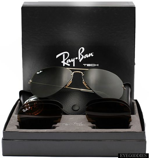 ray ban flip out frame only