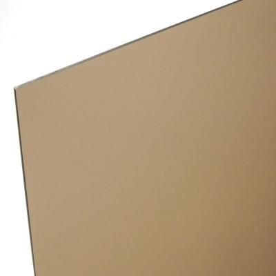 48 In X 96 In X 1 8 In Bronze Acrylic Sheet Mc 101 The Home Depot Acrylic Sheets Transparent Surfaces Transparent Plastic Sheet