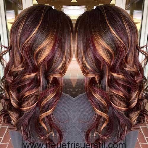 10 Haar Farbe Ideen Haare Farben Ideen Haarfarben Lange Haare