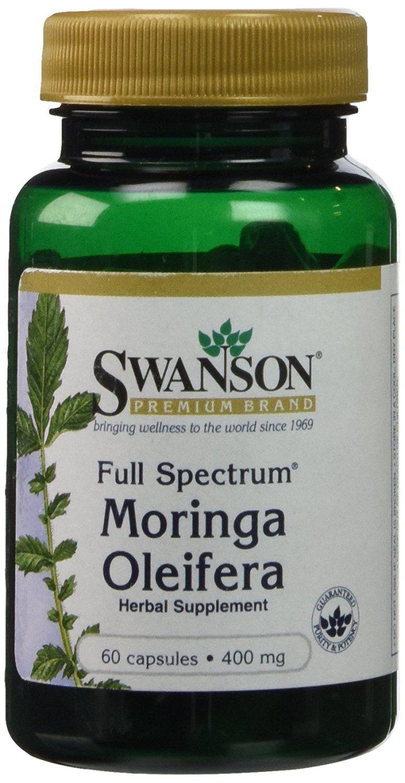Swanson Full Spectrum Moringa Oleifera (400mg, 60 Capsules